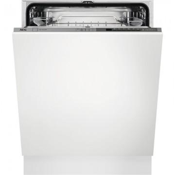Vestavné spotřebiče - AEG FSE53670Z vestavná myčka nádobí, AirDry, 60 cm, A+++
