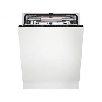 Vestavné spotřebiče - AEG Mastery FSE63807P vestavná myčka nádobí s příborovou zásuvkou, ComfortLift, 60 cm, A+++