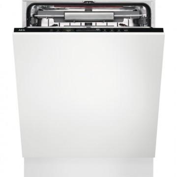 Vestavné spotřebiče - AEG FSK83717P vestavná myčka nádobí, AirDry, 60 cm, A+++
