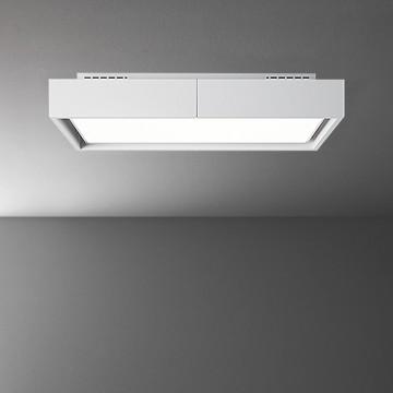 Vestavné spotřebiče - Falmec VEGA Circle.Tech Ceiling - stropní odsavač, bílý, 115 cm, 600 m3
