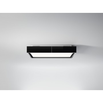 Vestavné spotřebiče - Falmec VEGA Circle.Tech Ceiling - stropní odsavač, černý, 115 cm, 600 m3