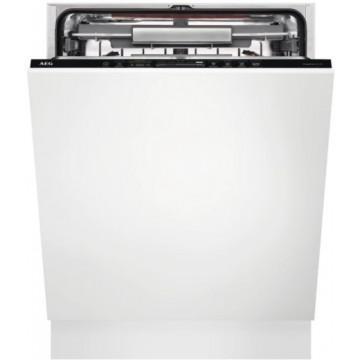 Vestavné spotřebiče - AEG Mastery FSK93807P vestavná myčka nádobí s příborovou zásuvkou, ComfortLift, vnitřní osvětlení, 60 cm, A+++