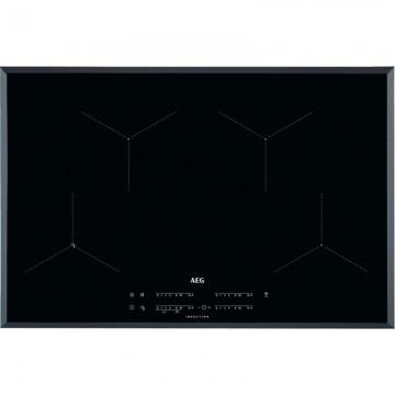 Vestavné spotřebiče - AEG Mastery IAE84431FB indukční varná deska SENSEFRY, Hob2Hood, černá, 80 cm