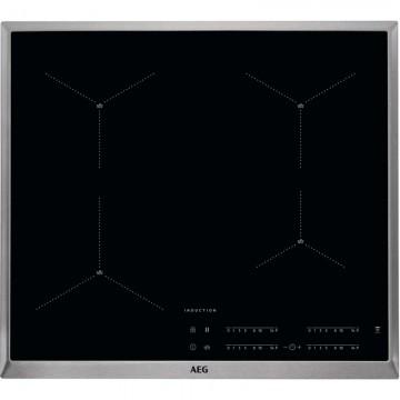 Vestavné spotřebiče - AEG Mastery IAE64413XB indukční varná deska SenseBoil, s rámečkem, Hob2Hood, černá, 60 cm