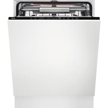 Vestavné spotřebiče - AEG Mastery FSK93707P vestavná myčka nádobí s příborovou zásuvkou, vnitřní osvětlení, 60 cm, A+++