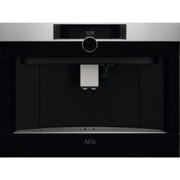 Vestavné spotřebiče - AEG Mastery KKK994500M plně automatický vestavný kávovar, otočný volič, design HORIZON