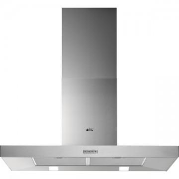 Vestavné spotřebiče - AEG DBB4950M komínový odsavač par, 90 cm, nerez