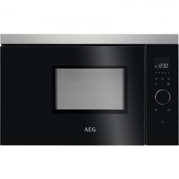 Vestavné spotřebiče - AEG MBB1756SEM vestavná mikrovlnná trouba, černá/nerez