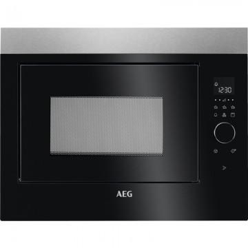 Vestavné spotřebiče - AEG MBE2658DEM vestavná mikrovlnná trouba, černá/nerez