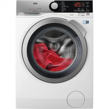 Volně stojící spotřebiče - AEG L7FBE69SCA ProSteam®, AutoDose pračka, kapacita praní 9 kg,  1600 otáček, Wifi, A+++-30 %