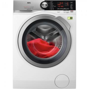 Volně stojící spotřebiče - AEG L8FBC69SCA ÖKOMix®, AutoDose pračka, kapacita praní 9 kg, 1600 otáček, Wifi, A+++ -50%