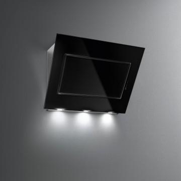 Vestavné spotřebiče - Falmec QUASAR DESIGN Wall - nástěnný odsavač, 90 cm, černé sklo/nerez, 800 m3