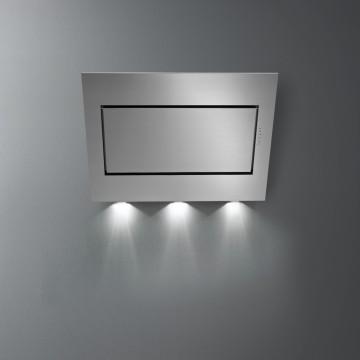 Vestavné spotřebiče - Falmec QUASAR TOP FASTEEL DESIGN Wall - nástěnný odsavač, 90 cm, nerez, 800 m3