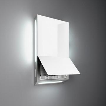 Vestavné spotřebiče - Falmec GHOST DESIGN Wall - nástěnný odsavač, 60 cm, bílý, 600 m3/h