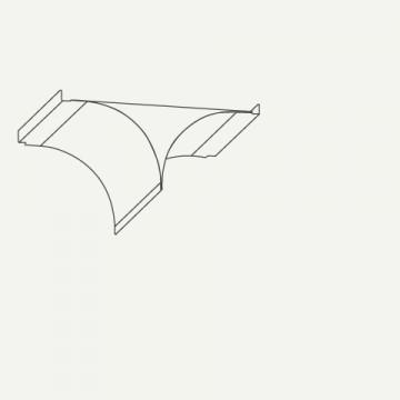 Příslušenství ke spotřebičům - Falmec Vzduchový dopravník pro recirkulační verze KACL.866 - ostrůvkové odsavače Falmec