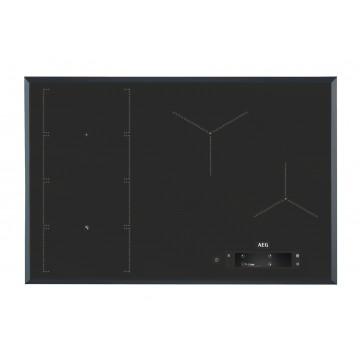 Vestavné spotřebiče - AEG Mastery IAE84851FB indukční varná deska SENSEFRY, tmavě šedá, 80 cm