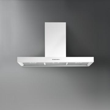 Vestavné spotřebiče - Falmec PLANE DESIGN Wall - nástěnný odsavač, 90 cm, bílý, 800 m3