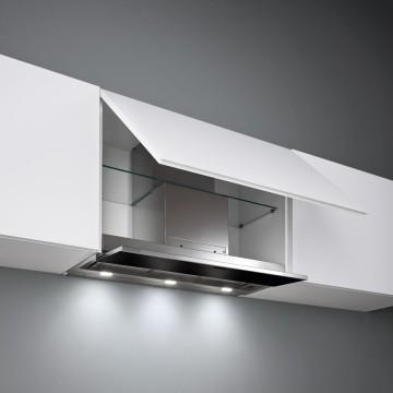 Vestavné spotřebiče - Falmec MOVE DESIGN Built-in - vestavný odsavač, 60 cm, černé sklo, 800 m3/h