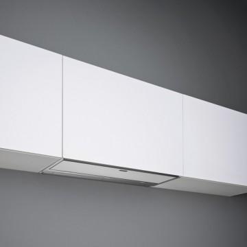 Vestavné spotřebiče - Falmec MOVE DESIGN Built-in - vestavný odsavač, 120 cm, bílé sklo, 800 m3/h