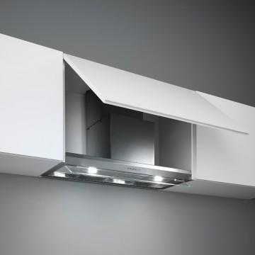 Vestavné spotřebiče - Falmec VIRGOLA DESIGN Built-in - vestavný odsavač, 90 cm, nerez, 600 m3/h