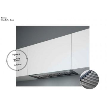 Vestavné spotřebiče - Falmec VIRGOLA NO-DROP DESIGN Built-in - vestavný odsavač, 120 cm, nerez, 800 m3/h
