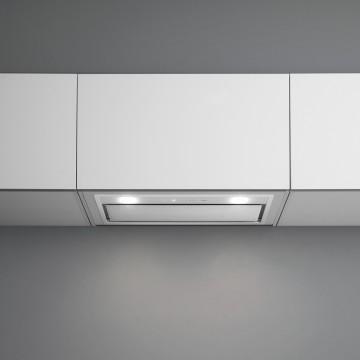 Vestavné spotřebiče - Falmec GRUPPO INCASSO MURANO DESIGN Built-in - vestavný odsavač, 70 cm, bílý, 800 m3/h