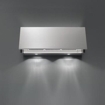 Vestavné spotřebiče - Falmec INTEGRATA DESIGN Built-in - vestavný odsavač, 90 cm, nerez, 600 m3/h