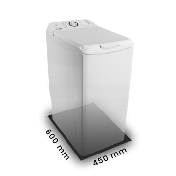 Příslušenství ke spotřebičům - Kluge KP45 pryžová podložka pod pračky