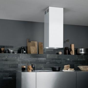 Vestavné spotřebiče - Falmec MIRA WHITE DESIGN Island - ostrůvkový odsavač, šířka 40 cm, bílá, 800 m3/h