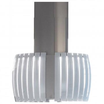 Vestavné spotřebiče - Falmec PRESTIGE DESIGN Island - ostrůvkový odsavač, šířka 75 cm, bílé sklo/nerez, 800 m3