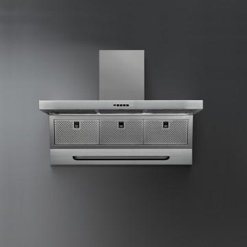 Vestavné spotřebiče - Falmec MASTER DESIGN Wall - nástěnný odsavač, šířka 90 cm, 800 m3/h