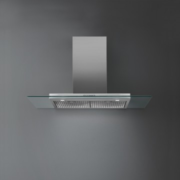 Vestavné spotřebiče - Falmec KRISTAL DESIGN Wall - nástěnný odsavač, šířka 90 cm, 800 m3/h
