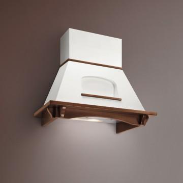 Vestavné spotřebiče - Falmec MELISSA TULIP CLASSIC Wall - nástěnný odsavač, šířka 90 cm, moření ořech, 600 m3/h