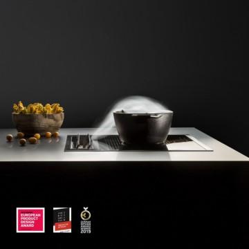 Vestavné spotřebiče - Falmec SINTESI Integrated cooking systems - odsavač integrovaný do indukční varné desky, šířka 88 cm, 600 m3/h
