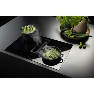 Vestavné spotřebiče - Falmec QUANTUM Integrated cooking systems - odsavač integrovaný do indukční varné desky, šířka 84 cm, 600 m3/h
