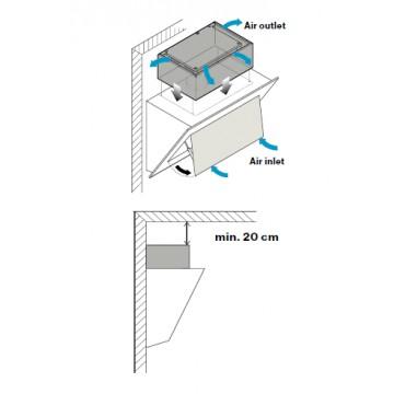 Příslušenství ke spotřebičům - Falmec Carbon.Zeo KACL.941 - filtrační jednotka pro šikmé odsavače v recirkulačním režimu