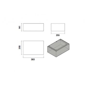Příslušenství ke spotřebičům - Falmec Carbon.Zeo KACL.943 - náhradní filtr pro jednotku KACL.941
