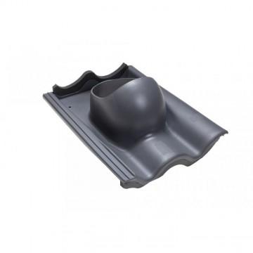 Příslušenství ke spotřebičům - Faber Střešní průchodka pro tašku beton šedá RAL 7015