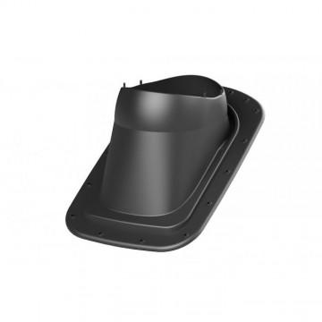 Příslušenství ke spotřebičům - Faber Střešní průchodka pro plech rovný černá RAL 9005