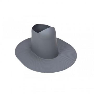 Příslušenství ke spotřebičům - Faber Manžeta pro průchodku pro ploché střechy šedá RAL 7015
