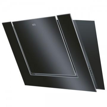 Vestavné spotřebiče - AEG DVB4850B komínový odsavač par, 80 cm, černý