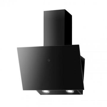 Vestavné spotřebiče - Faber VRT BK A60  - komínový odsavač, černá / černé sklo, šířka 60cm