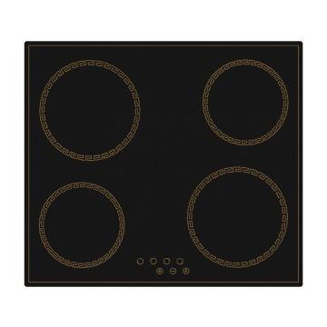 Vestavné spotřebiče - Kluge KPV6010B deska sklokeramická