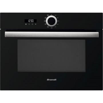 Vestavné spotřebiče - Brandt BKS5132X Vestavná mikrovlnná trouba 40 l, černá/nerez, 4 roky záruka
