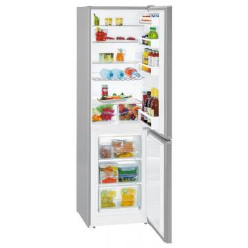 Volně stojící spotřebiče - Liebherr CUef 3331 kombinovaná chladnička, nerez, A++