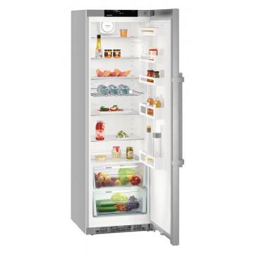 Volně stojící spotřebiče - Liebherr KEF 4330 BluPerformance, chladnička, objem 390 l, nerez, A+++ - 5 let záruka