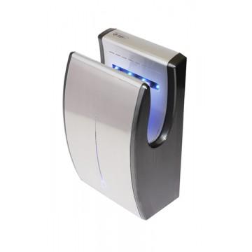 Vysoušeče rukou Jet Dryer - Jet Dryer Vysoušeč rukou COMPACT, Stříbrný Kovové čelo