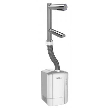 Vysoušeče rukou Jet Dryer - Jet Dryer Vysoušeč rukou a baterie DUO 2v1, Matný chrom Pochromovaná mosaz