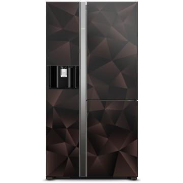 Volně stojící spotřebiče - Hitachi R-M700VAGRU9XGBZ chladnička r-m700vagru9x (gbz), 7 let záruka