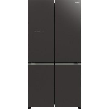 Volně stojící spotřebiče - Hitachi R-WB640VRU0-GMG chladnička r-wb640vru0 (gmg), 7 let záruka